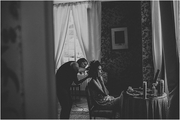 mariage à la bastide de Puget madame a photographie