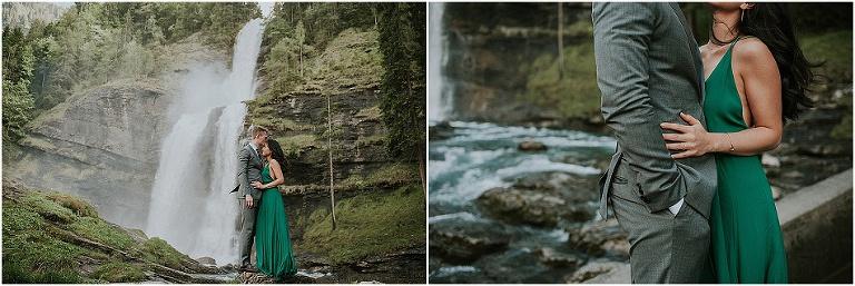day after photoshoot Chamonix