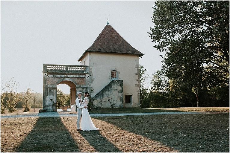 mariage au Château de Brangues