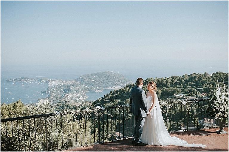 un mariage au domaine du Mont Leuze