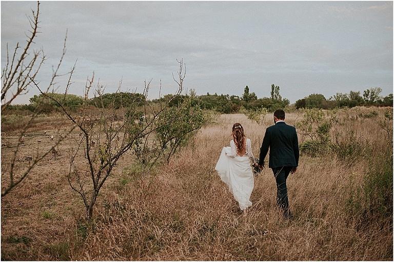 mariage au domaine de Chanteperdrix