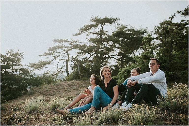 séance photo de famille dans la Drôme