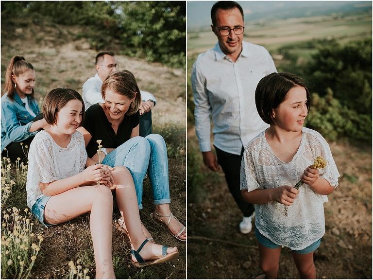 Séance photo de famille à Romans