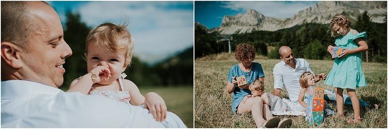 séance photo famille Gresse-en-Vercors