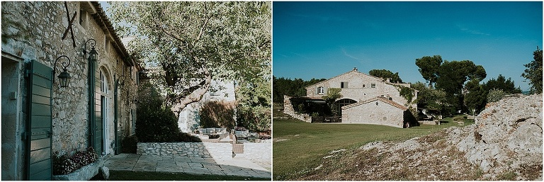 wonderful wedding venue in Provence Mas de la rose
