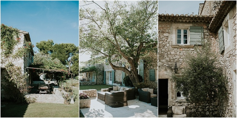 le mas de la rose, wedding venue in Provence