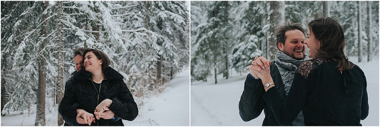 engagement photo session in the french alps